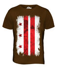 WASHINGTON DC GRUNGE FLAG MENS T-SHIRT TEE TOP WASHINGTONIAN SHIRT JERSEY GIFT