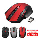 2.4GHz 6D 2000 DPI USB Wireless Optical Gaming Mouse Mice for Laptop Desktop PC