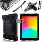 "Shockproof Silicone Stand Cover Case For Various 7"" 8"" LG G Pad Tablet + Pen"