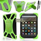 "Tablet Shockproof Soft Silicone Stand Cover Case For 7"" 8"" Amazon Kindle Fire"