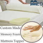 100% Memory Foam Mattress Topper All Sizes, Depths & Covers Available FREE P&P