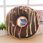 Soft Plush Pillow Stuffed Seat Pad Sweet Donut Food Cushion Cover 40cm Case L