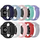 Sport Silicone Bracelet Strap Band for Apple Watch Series 4/3/2/1 38 40 42 44mm image