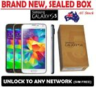 Phone Black White G900f S5 Galaxy Blue Unlocked Factory 16gb Android New Samsung