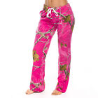 Realtree Ladies Sleep Pants Ap Hot Pink Camo