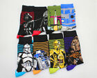 US! Star Wars The Last Jedi fashion Funny Cotton Socks Cartoon Men Long Socks $5.99 USD on eBay