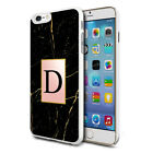 Personalised Marble Phone Case Cover for Apple Samsung Initial Text Name L21
