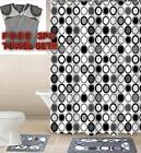 Empire Home 15-Piece Bathroom Accessory Bath Mat Sets+ FREE 3-PIECE TOWEL SET