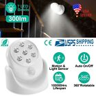 1-4 Pcs Battery Operated Motion Activated PIR Sensor Cordless Security Light US