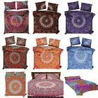 Mandala Duvet Cover Queen Size Comforter Set Bed sheet Reversible Bedding Quilt