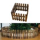 Wooden Picket Fence Garden Fencing Lawn Edging Home Yard Christmas Tree Fence