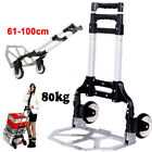 2 Wheel 80Kg Heavy Duty Foldable Truck Hand Sack Trolley Lightweight Barrow Cart