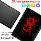 3BC7 10.1  Tablet 10Inch Screen Android 6.0 4+64GB Dual Camera Wifi Phablet 2018
