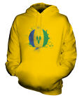 SAINT VINCENTS AND THE GRENADINES FOOTBALL UNISEX HOODIE GIFT WORLD CUP SPORT