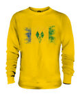 SAINT VINCENTS AND THE GRENADINES DISTRESSED FLAG UNISEX SWEATER TOP ST. VINCENT