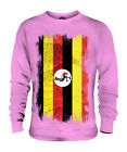 UGANDA GRUNGE FLAG UNISEX SWEATER TOP UGANDAN SHIRT FOOTBALL JERSEY GIFT