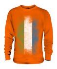 SIERRA LEONE FADED FLAG UNISEX SWEATER TOP LEONEAN SHIRT FOOTBALL JERSEY GIFT