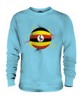 UGANDA FOOTBALL UNISEX SWEATER  TOP GIFT WORLD CUP SPORT