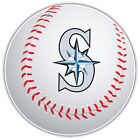 Seattle Mariners MLB Letter Logo Ball Car Bumper Sticker Decal-9'', 12'' or 14'' on Ebay