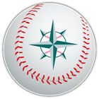 Seattle Mariners MLB Star Logo Ball Car Bumper Sticker Decal  -9'', 12'' or 14'' on Ebay