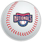 Washington Nationals MLB Full Logo Ball Car Bumper Sticker   -9'', 12'' or 14'' on Ebay