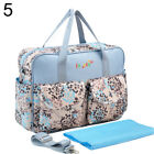 HK- Baby Stroller Changing Diaper Nappy Bag Mummy Mother Floral Shoulder Bag Eye