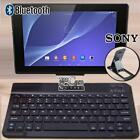 """For 10"""" 11"""" sony xperia Tablet Slim Wireless Bluetooth Keyboard + Stand Holder"""