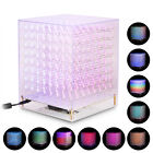 3D Full Color 8x8x8 Cube RGB LED Game Music Spectrum with MIC DIY KIT/ Finished