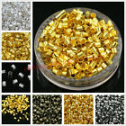 Внешний вид - Wholesale Cord End Tube Crimp Beads Silver Gold Bronze Black Color 1.5mm 2mm 3mm
