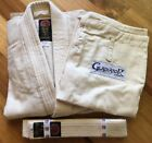 Proforce Gladiator Judo Gi Uniform Grappling Jiu Jitsu Natural Martial Arts New