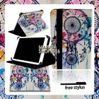 For Various 7 8 10 inch Tablet -  FOLIO LEATHER STAND CASE COVER + Stylus