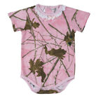 Pink Forest Camouflage Infant One Piece 0-3M 12-18M