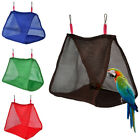 UK_ Bird Hammock Hanging Cave Cage Snuggle Happy Hut Tent Bed Parrot Bunk Toy Co