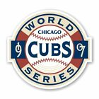 Chicago Cubs Vintage World Series 1907  Decal / Sticker Die cut on Ebay