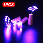 C57F 3FD2 20 LED Battery Micro Rice Wire Copper Fairy String Lights Party 2M UK