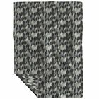 Throw Blanket Bears Camouflage Pine Trees Forest Green Camo Woodland 48 x 70in