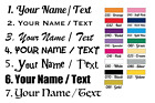 Custom Text Name Letter Vinyl Stickers Car Decal Wall Art Bedroom Door Stickers