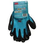 [100pairs] 3M Comfort Grip Gloves Nitrile Foam Coated Sports Work Gloves Blue