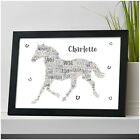 Personalised Horse Equestrian Pony Birthday Christmas Gifts for Her Girls She