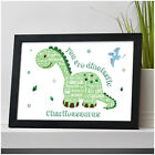 DINOSAUR Gifts for Boys Kids Son Him PERSONALISED Dino ANYNAMEASAURUS Birthday