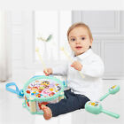 Bell Playing Baby Gift Drum Toys Rattles Music Instruments Kit  Sand Hammer