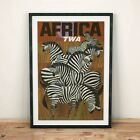 African Fly TWA - Vintage Travel Poster