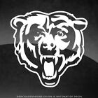 """Chicago Bears NFL Vinyl Decal Sticker - 4"""" and Larger - 30+ Color Options!"""