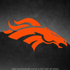 "Denver Broncos NFL Vinyl Decal Sticker - 4"" and Larger - 30+ Color Options! $3.98 USD on eBay"