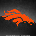 "Denver Broncos NFL Vinyl Decal Sticker - 4"" and Larger - 30+ Color Options! on eBay"