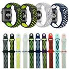 Apple Watch Nike+ iWatch Series 4/3/2/1 Replacement Silicone Watch Band Sports  image