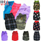 US Pet Dog Coat Jacket Winter Clothes Puppy Sweater Coat Apparel Outwear Unisex