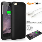 Backup Power Bank MFI Battery Case iPHONE 6 6S PLUS+10ft/6ft/3ft Apple cable USB
