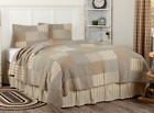 SAWYER MILL CHARCOAL QUILT SET-choose size & accessories-Farmhouse Bedding VHC image