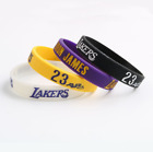 19-20 Los Angeles Lakers LeBron James Wristband Silicone Rubber Bracelet on eBay